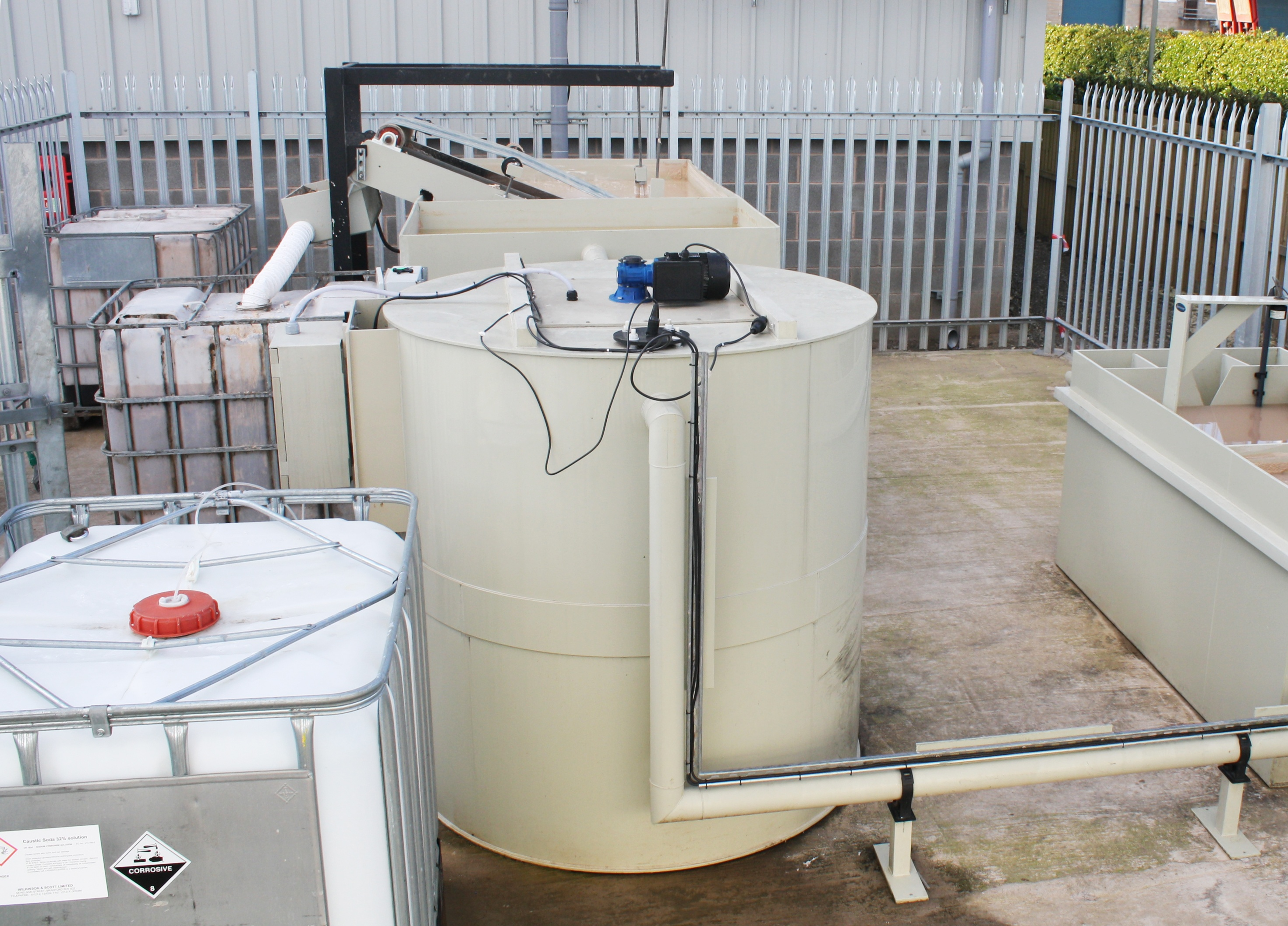 Effluent Chemical Supply